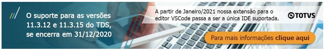 VSCode - Nova IDE Totvs